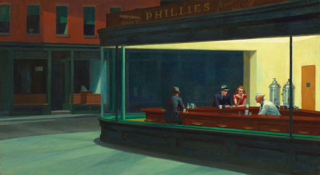 Nighthawks, by Edward Hopper