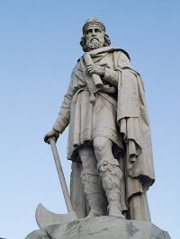 Statue of King Alfred in Wantage